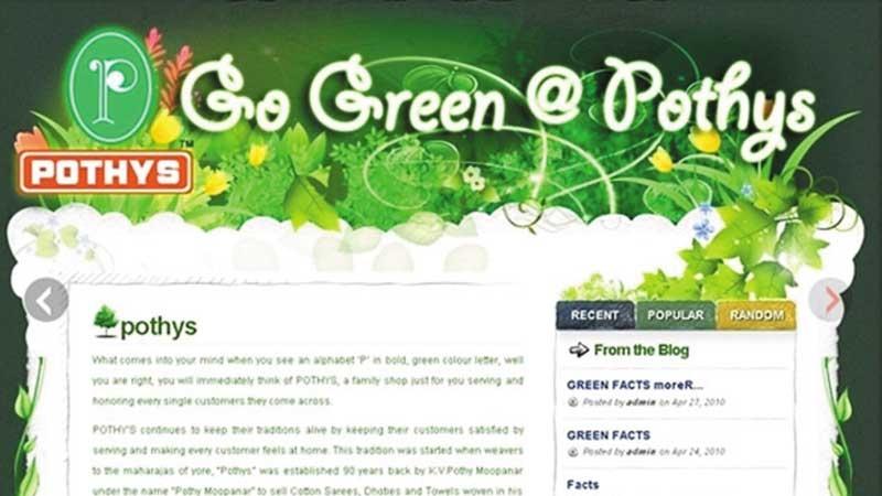 Pothys Go Green